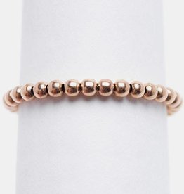 Karen Lazar Rose Gold Filled Signature Ring