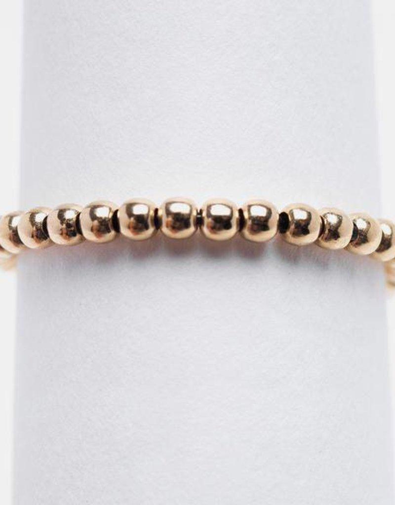 Karen Lazar Yellow Gold Filled Signature Ring