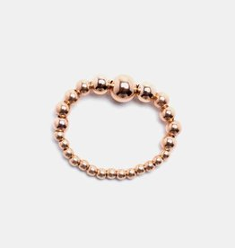 Karen Lazar Rose Gold Filled Signature Large Bead Ring