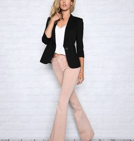 James Jeans Shrunken Tuxedo Black Ponte