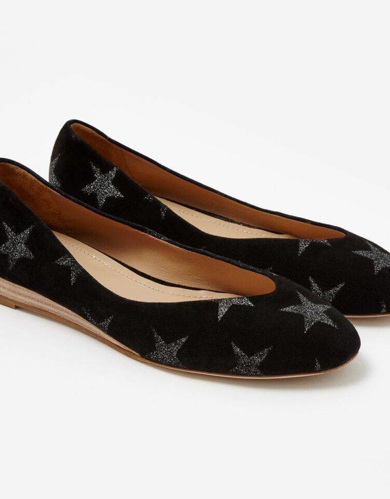 Sclarandis Nina Black Glitter Star
