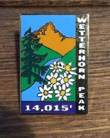 Wetterhorn Peak Pin