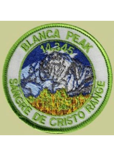 Blanca Peak Patch