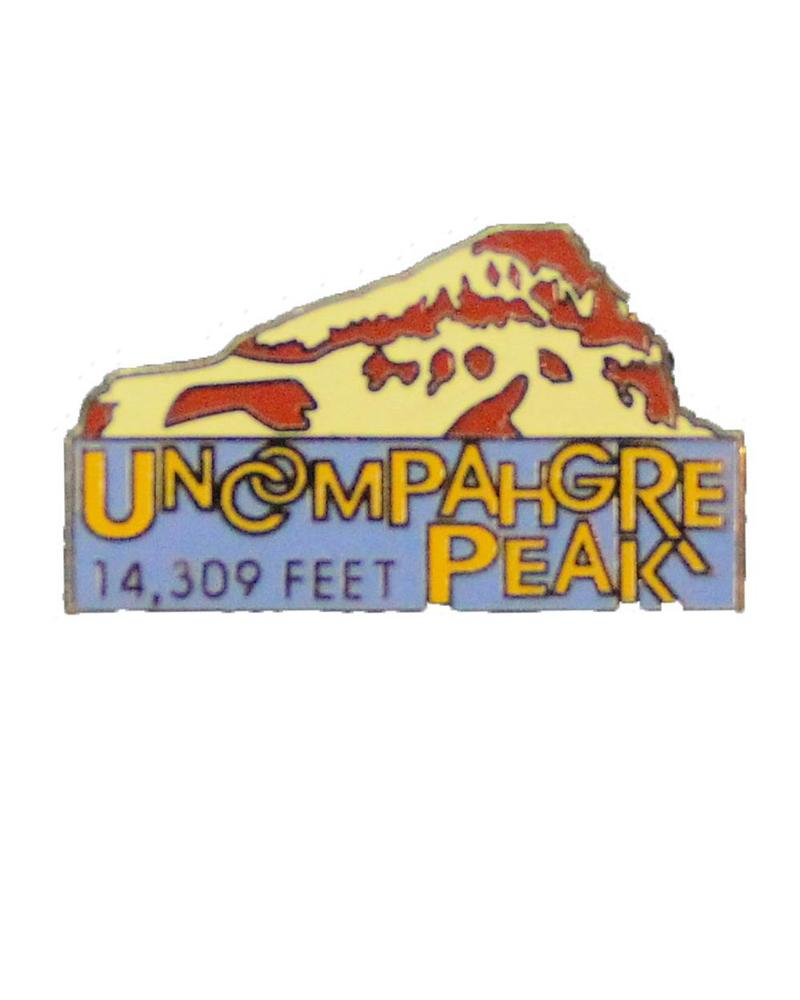 Uncompahgre Peak Pin