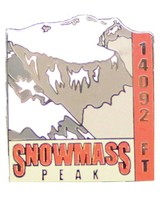 Snowmass Mountain Pin