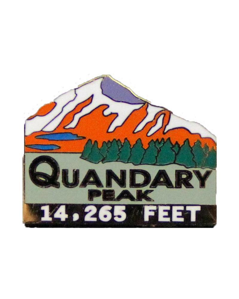 Quandary Peak Pin
