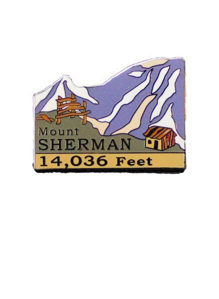 Mount Sherman Pin