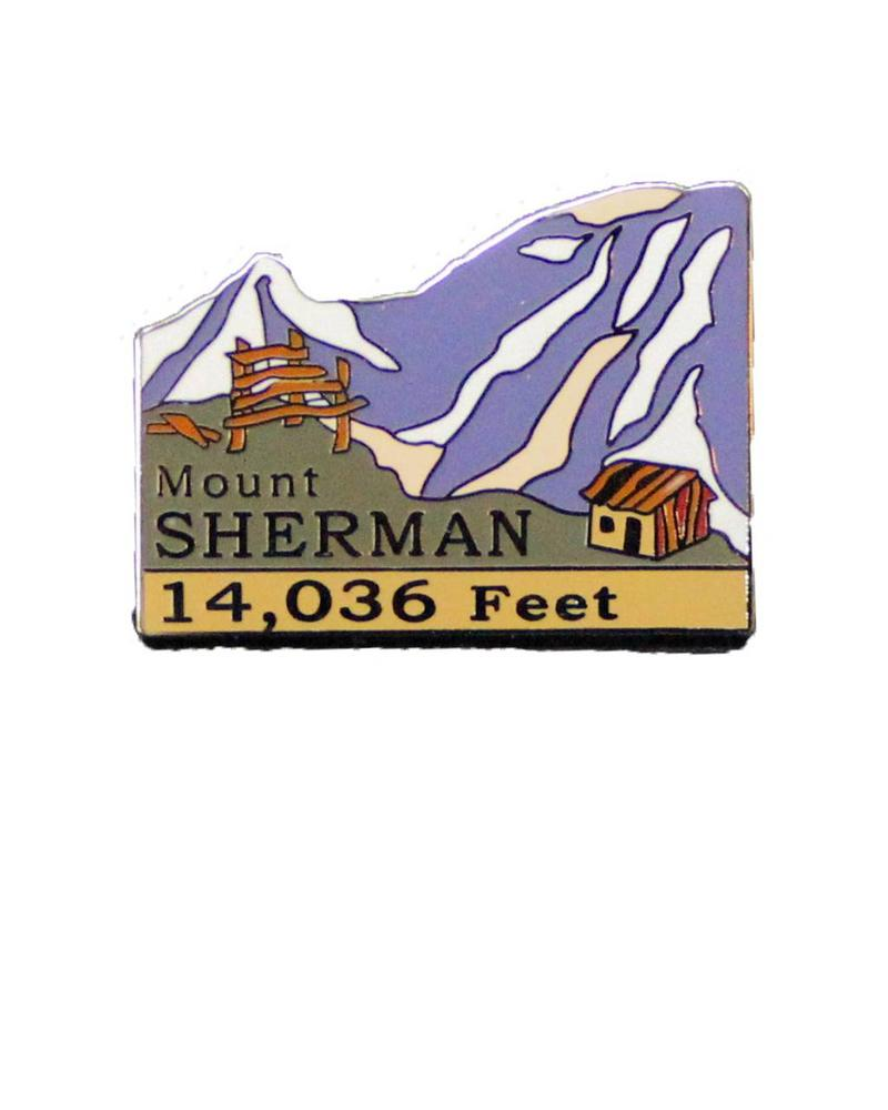 Mount Sherman Pin