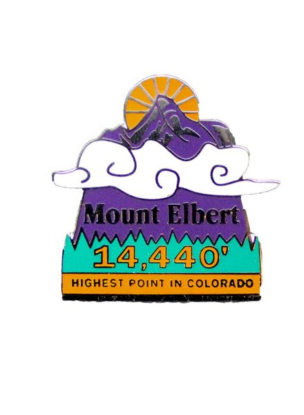 Mount Elbert Pin