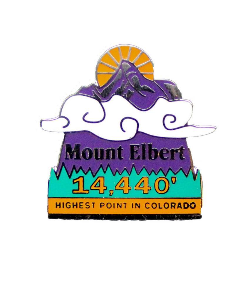 Mount Elbert Pin