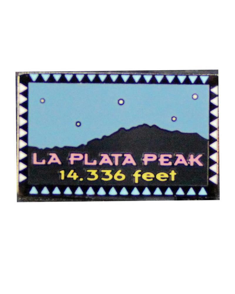 La Plata Peak Pin