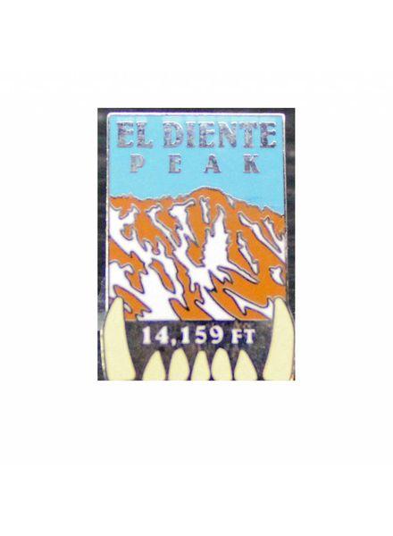 El Diente Peak Pin