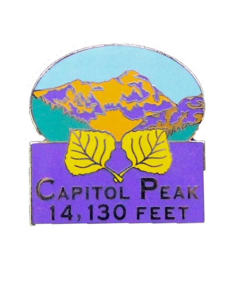 Capitol Peak Pin