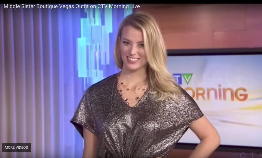 Middle Sister Boutique Vegas Outfit on CTV Morning Live
