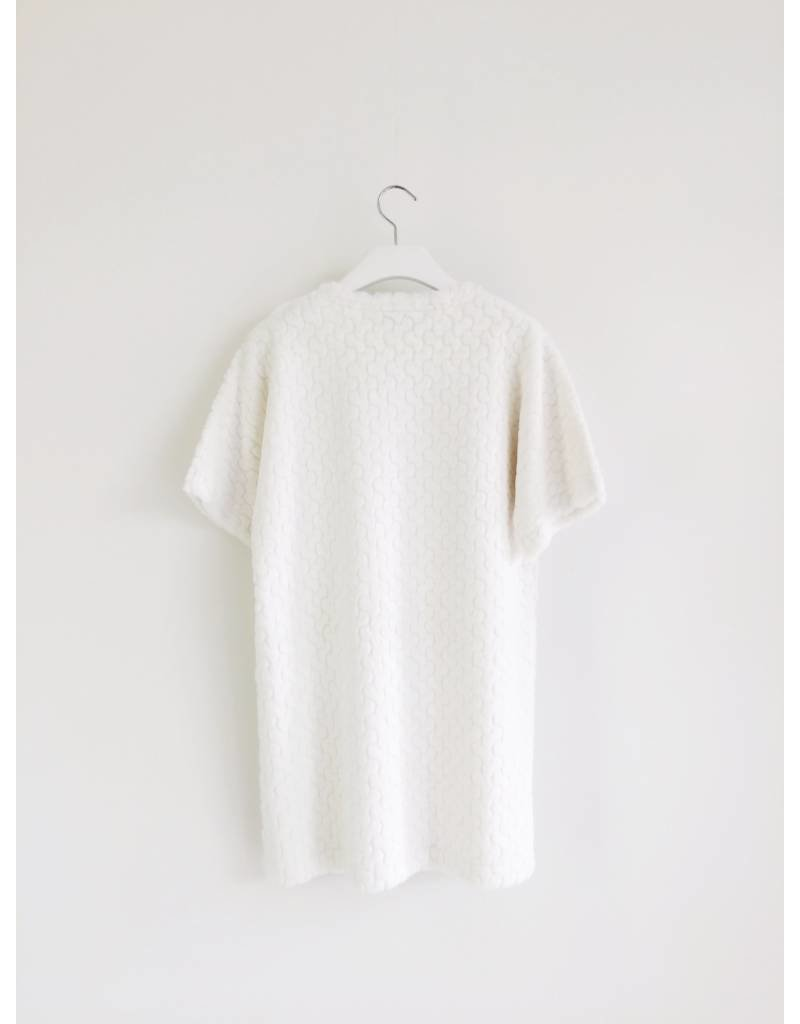 Ti:Baeg Fuzzy T-Shirt Dress