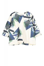 Ti:Baeg Cropped Graphic Shirt