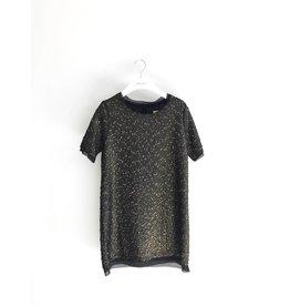 Bonsui Glitter Boucle Dress