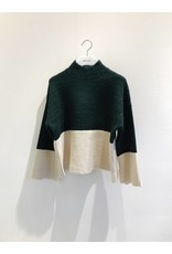 Bonsui Colour Block Knit Sweater
