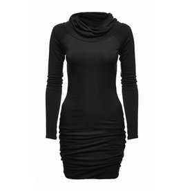 Melow Twisted Neck Dress