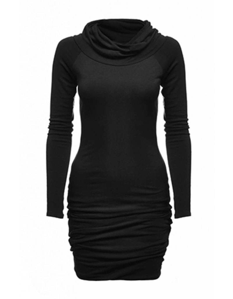 Melow Twisted Neck Dress