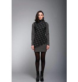 Ruelle City Checkered Dress