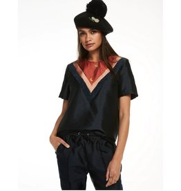 Scotch & Soda Short Sleeve Blouse