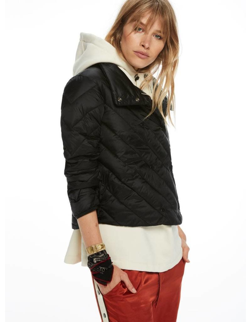 Scotch & Soda Double Breasted Quilted Jacket