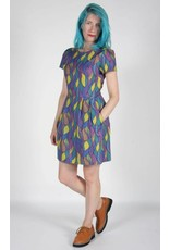 Birds of North America Bobolink Fit Flare Dress
