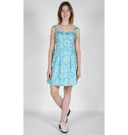 Birds of North America Dress Sungrebe Fit Flare