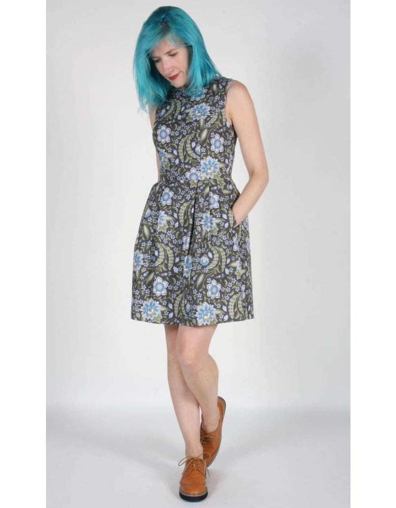 Birds of North America Dress Willet Fit Flare