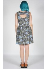 Birds of North America Willet Fit Flare Dress