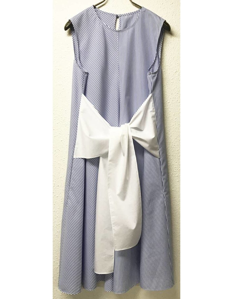 TheLoom Striped Tie-up Dress