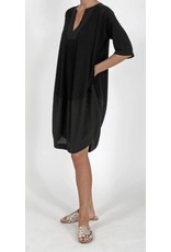 Ayrtight Contra Crepe Tunic Dress