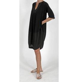 Ayrtight Contra Crepe Tunic Dress