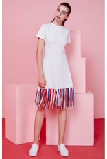 Eye of P Failtail Fringe Short Sleeved Dress