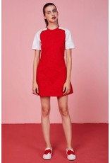 Eye of P Big Heart Logo Embroidered Short Sleeve Dress