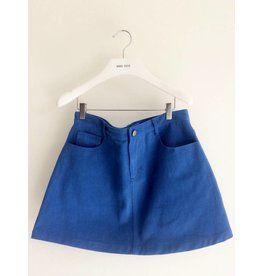 Eye of P A-Line Denim Skirt