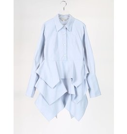 Ti:Baeg Kangkang Partial Button Down Blouse