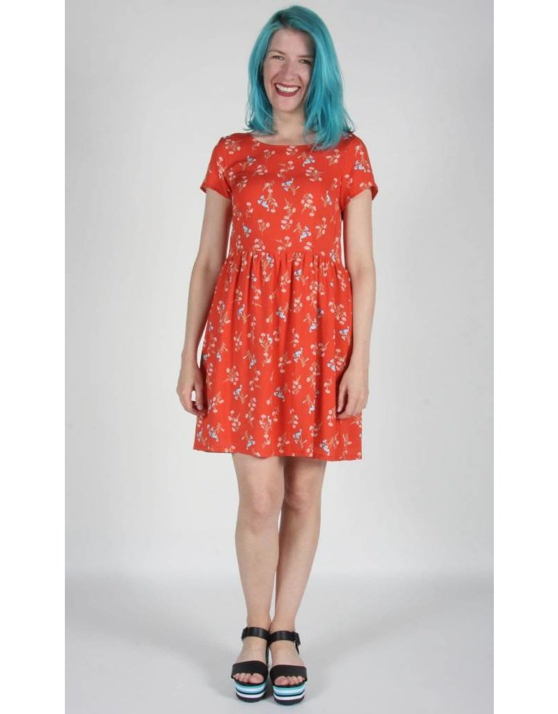 Birds of North America Fruitcrow Wildflowers Dress