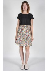 Birds of North America Schiffornis London Floral Grey Skirt