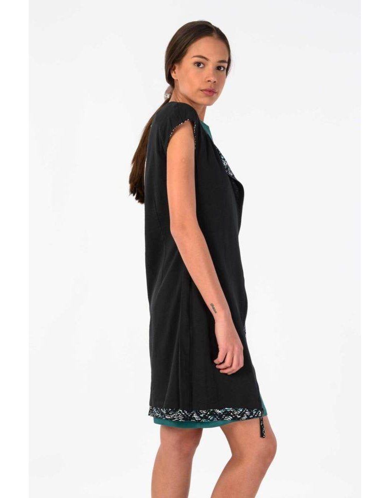 Skunk Funk Aiara Reversible Shift Dress