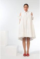 Marigold Orlanda Lurex Stripe Dress