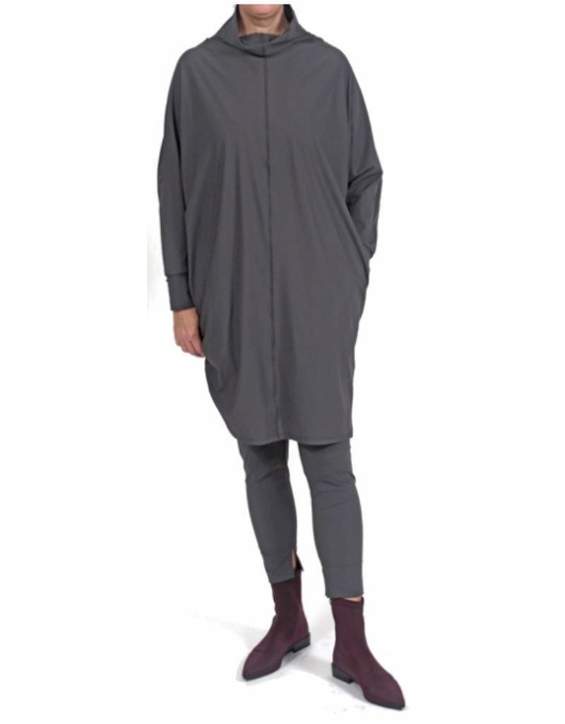 Ayrtight Index Tunic Mockneck Dress