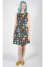 Birds of North America Bulbul Sleeveless Blockbuster Multicolor