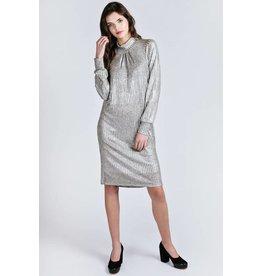 Allison Wonderland Louvre Tunic Silver Dress