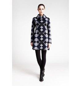 Dinh Ba Rock It Mini Turtleneck Dress