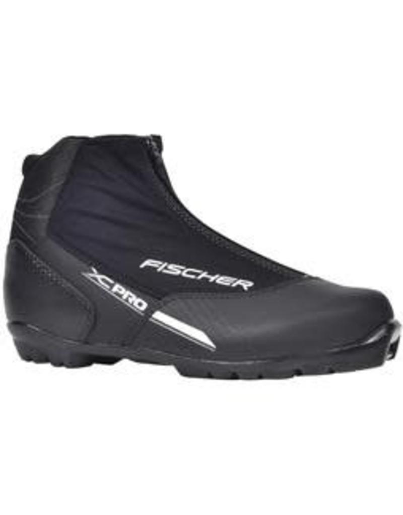 Fischer Classic Boots XC Pro Black Silver 2018