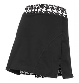 Shebeest Women's Cycloskort Skirt Hounds Tooth XLarge