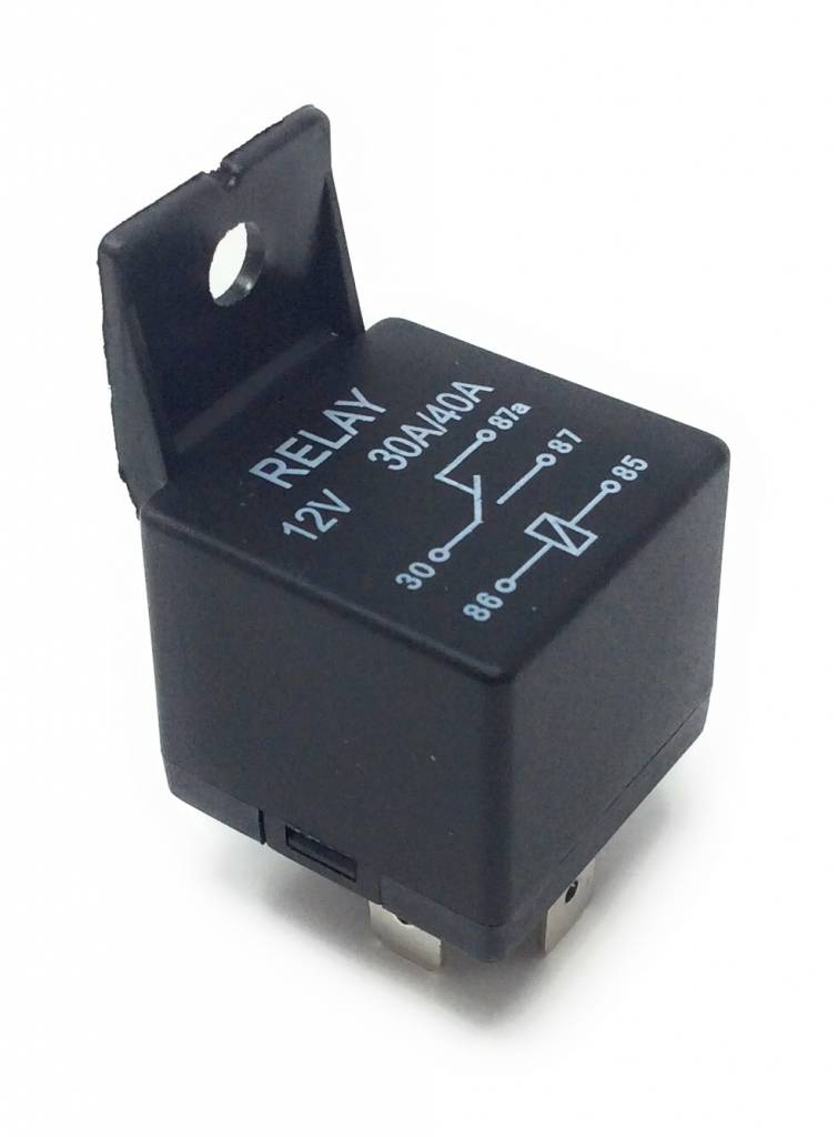 Automotive Auto Truck Block Relay 5 Post Detachable Mount Tab 3040