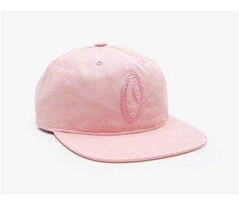 OBEY BUNT 6 PANEL HAT LGHT ROSE OS